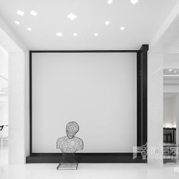 500㎡现代风格——玄关图片