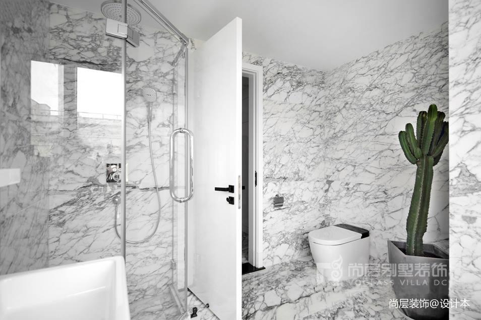500㎡現代風格——衛生間圖片