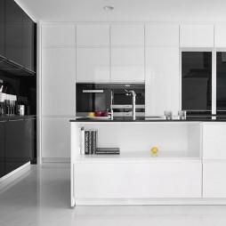 500㎡现代风格——厨房图片
