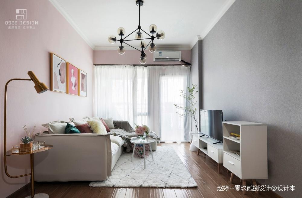 零玖贰捌设计/《小舍--淡彩的夏天》——客厅图片