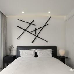 100㎡一居室,这对丁克夫妇有点皮——卧室图片