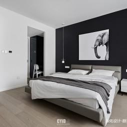 现代简约—黑与白——卧室图片