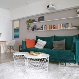 清晨美式——客厅图片
