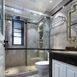美式经典—幸福来敲门——卫生间图片