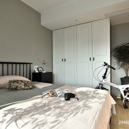 130北欧极简——卧室图片