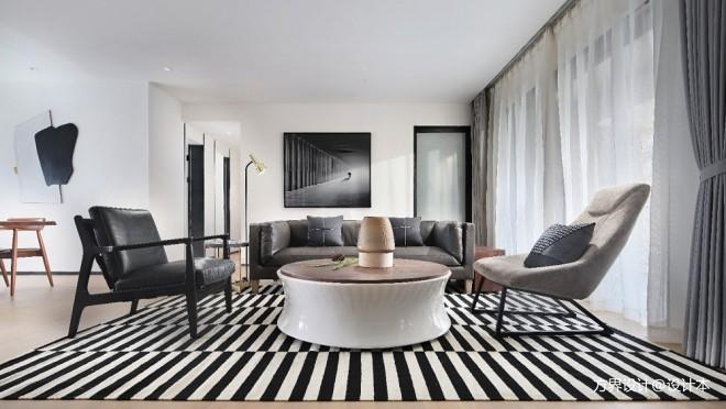方界设计新作 | 静日生香——客厅图