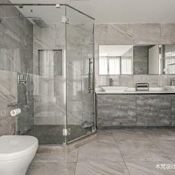 350平米北欧极简——卫生间图片