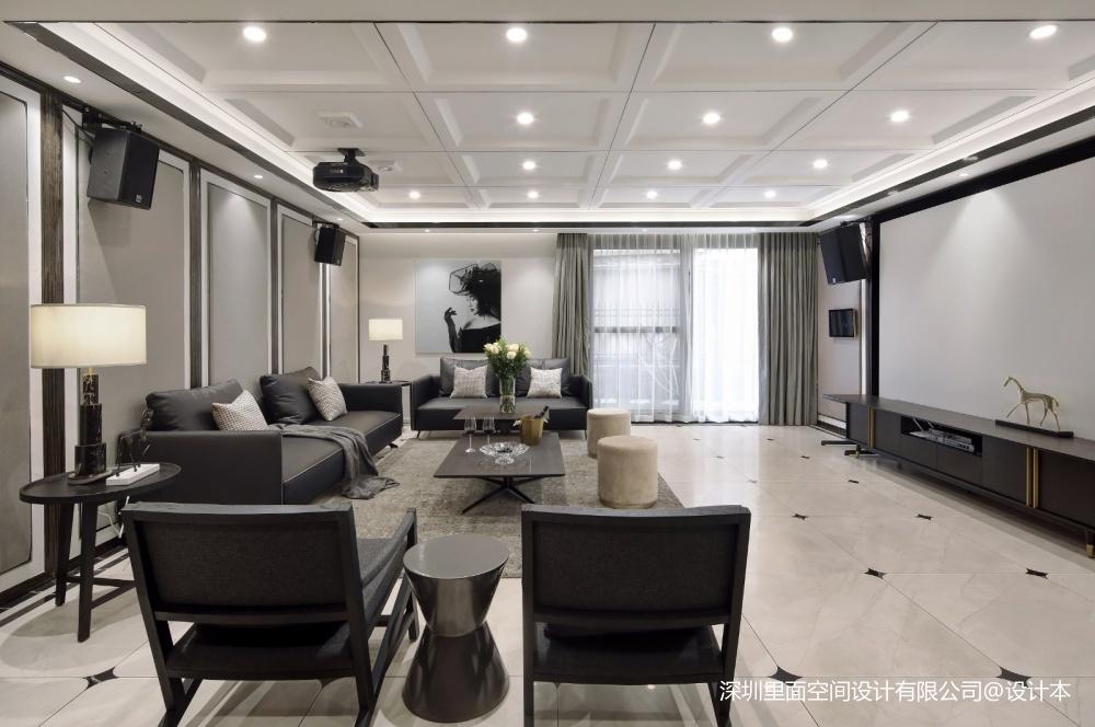 现代极简不仅仅只流行冷调的高级灰——客厅图片