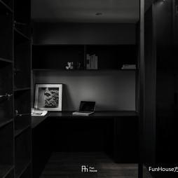 暗色倒影|玻璃隔开的动与静——书房图片