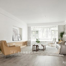 【尺子室内设计】良 隅——客厅图片