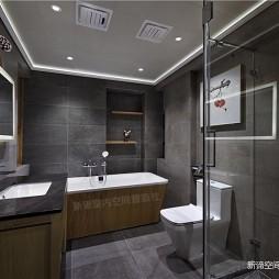 中式现代—自在居——卫生间图片