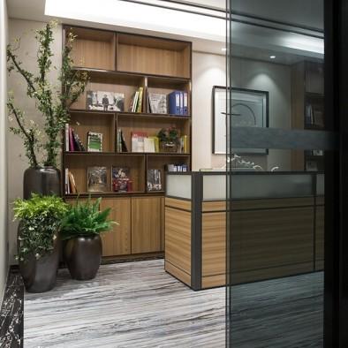 刘永辉设计作品【新中式办公室】_3804347