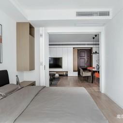 88平米现代简约——卧室图片