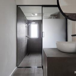 90平米日式风格——卫生间图片