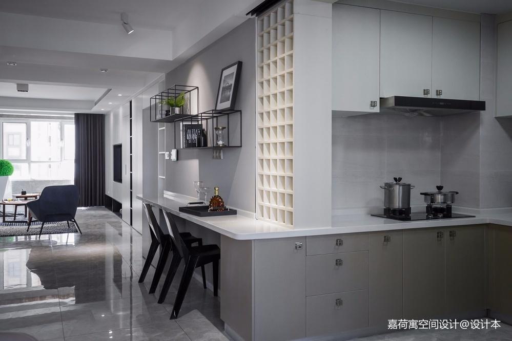 嘉荷寓   极简美学,还原家的定义——厨房图片