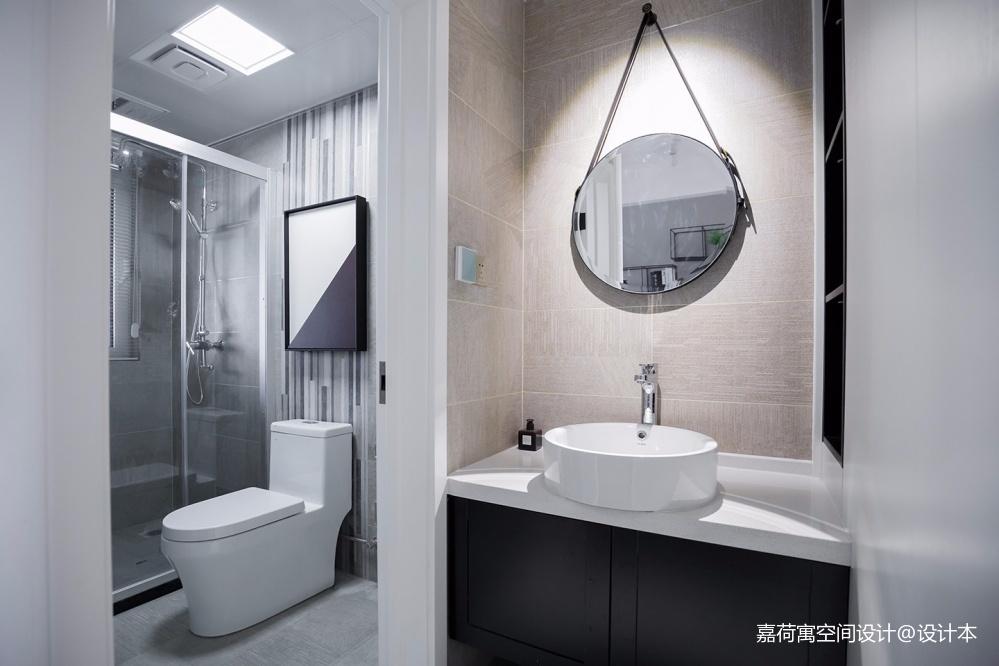 嘉荷寓 | 极简美学,还原家的定义——卫生间图片