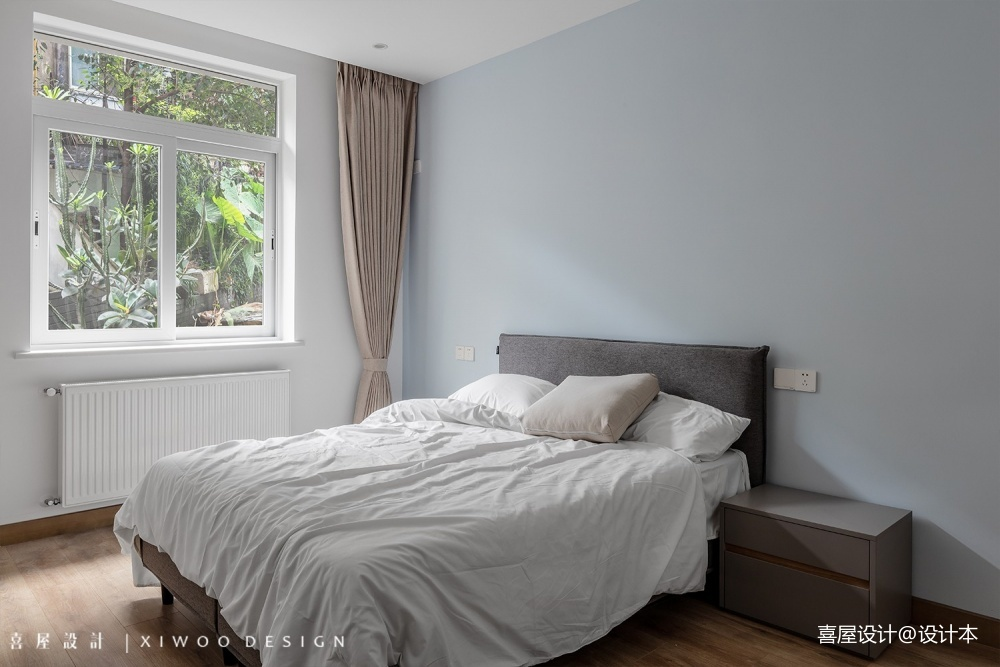 喜屋设计|年轮——卧室图片