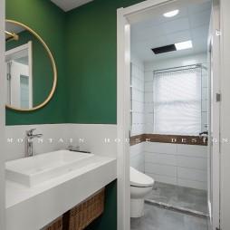 灰度—90平米现代简约——卫生间图片