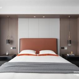 197平米现代简约——卧室图片