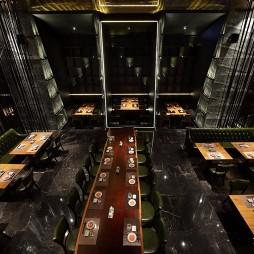 料理空间设计—TOKU——卡座图片