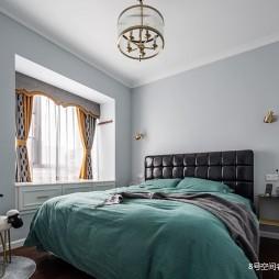 90平米现代简约卧室图片