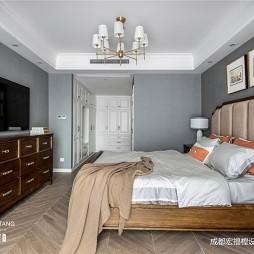 136平米美式经典——卧室图片