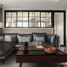 三居现代简约客厅图片