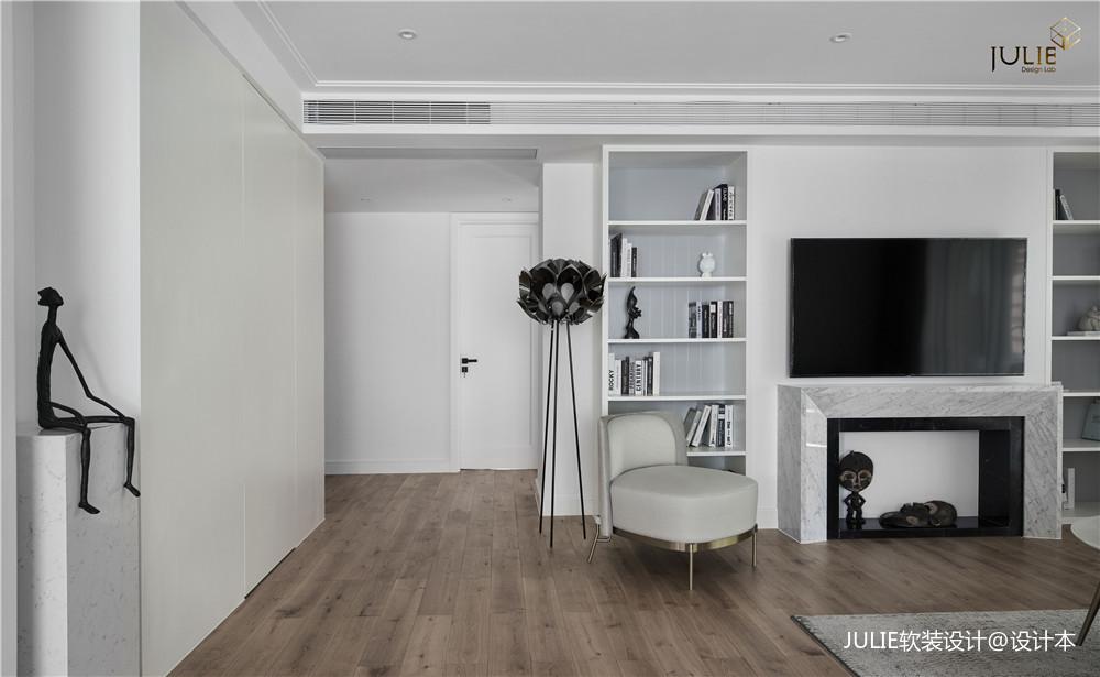 180平米现代简约——客厅图片