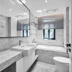 180平米现代简约——卫生间图片