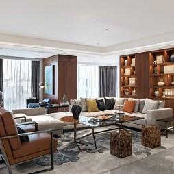 当代典雅 隐逸东方——客厅图片