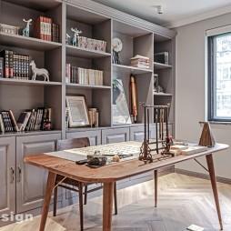 北欧风温馨住宅——书房图片