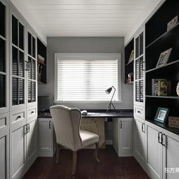 这个美式别墅温馨又温馨——书房图片