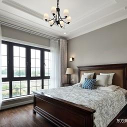 这个美式别墅温馨又温馨——卧室图片