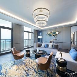 上海三甲港绿地铂瑞酒店空间设计——客厅图片