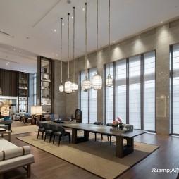 上海三甲港绿地铂瑞酒店空间设计——茶室图片