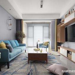 北欧公寓新家——客厅图片