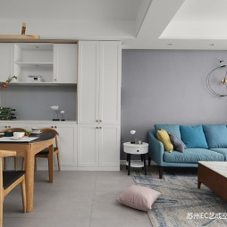 北欧公寓新家——客餐厅图片