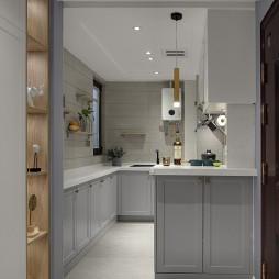 北欧公寓新家——厨房图片