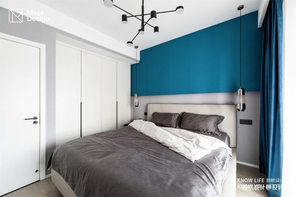 color block,我的现代简约乐园——卧室图片