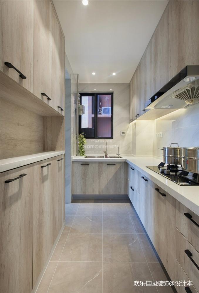 爆改90平小三房——厨房图片