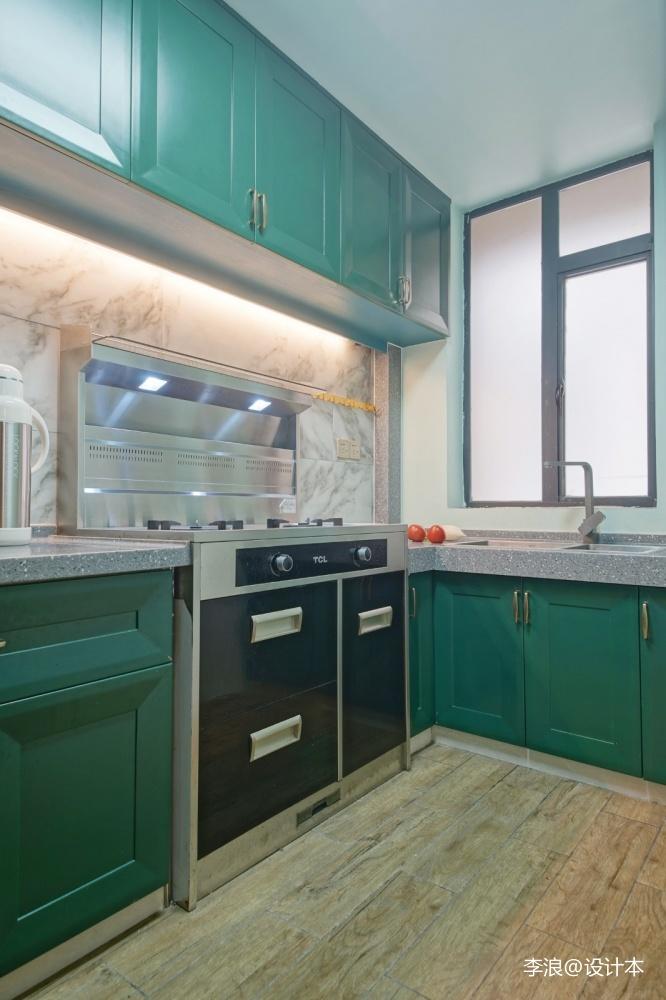 小户型中式——厨房图片