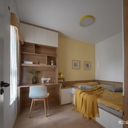 70平米现代简约—次卧设计图