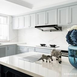轻奢美式_独栋别墅——厨房图片