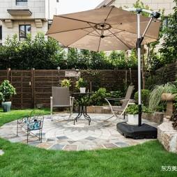 轻奢美式_独栋别墅——庭院图片
