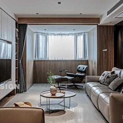 混搭台式风格居家住宅——客厅图片
