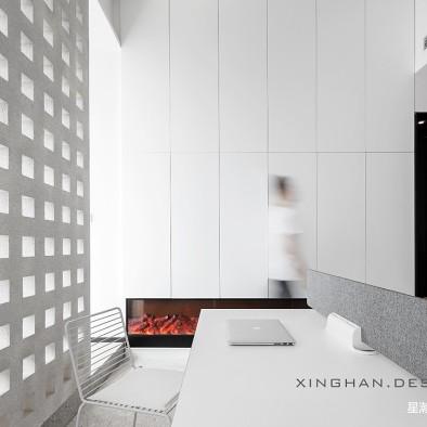 40平办公空间——办公区图片