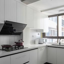 古希腊拱形窗•搬进现代自然家——厨房图片