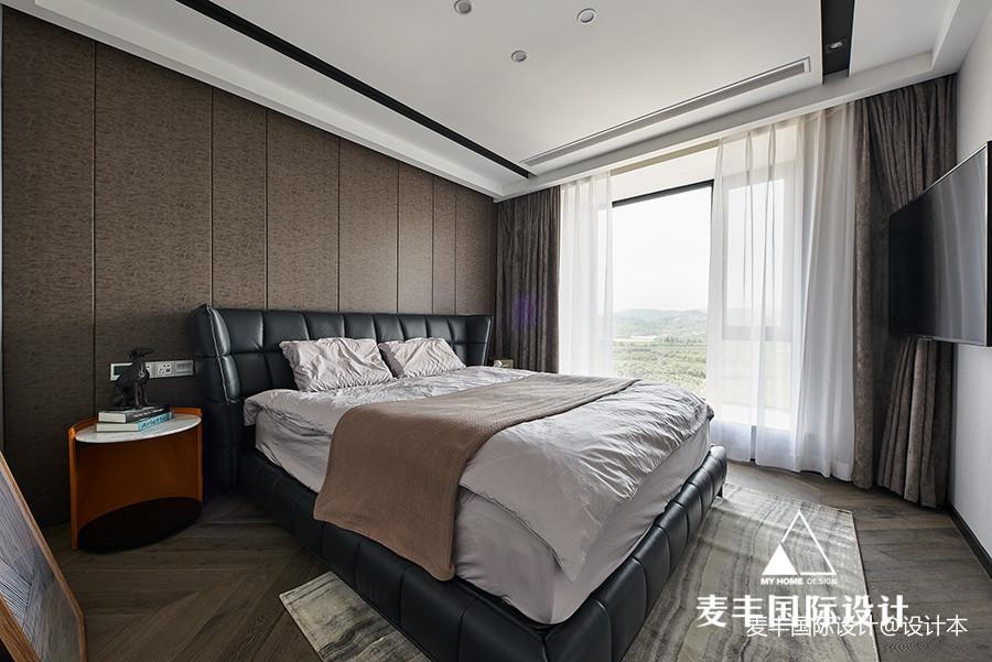 空间/展开 125m²现代新宅——卧室图片