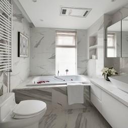 160平现代简约卫生间设计图