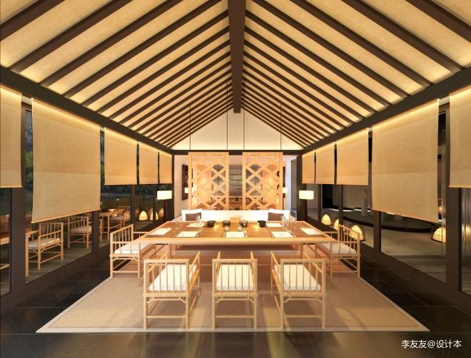 中国广州番禺山里山居茶会所项目——座